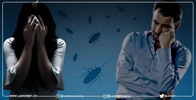 Bizarre Divorce Cockroach Phobia