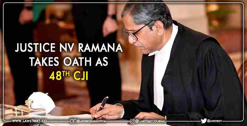Justice NV Ramana Takes Oath CJI
