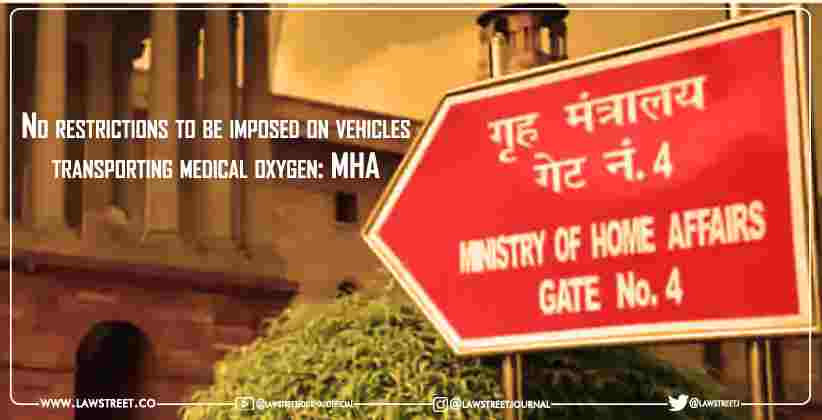 No restrictions to be imposed on vehicles transporting medical oxygen: MHA