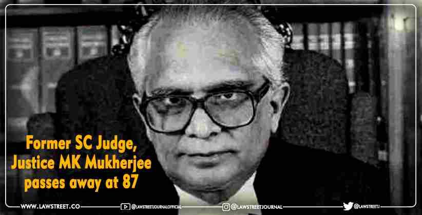 Supreme Court Justice Manoj Kumar Mukherjee