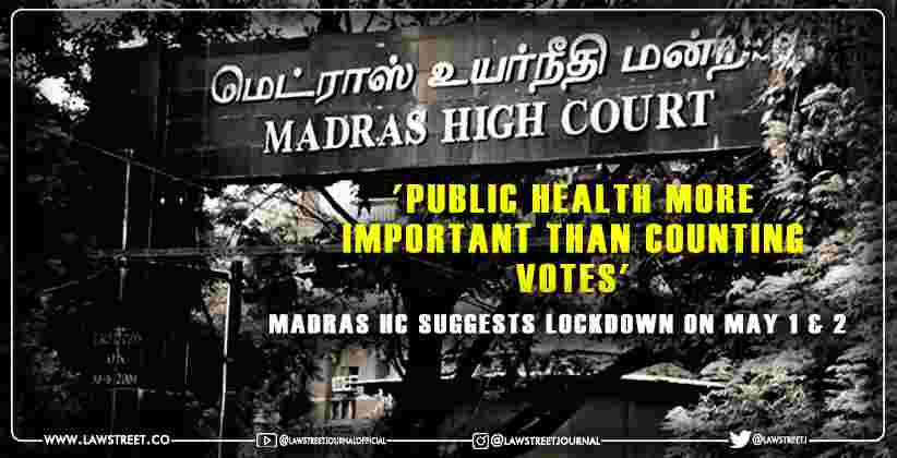 Public Health More Important than Counting Votes