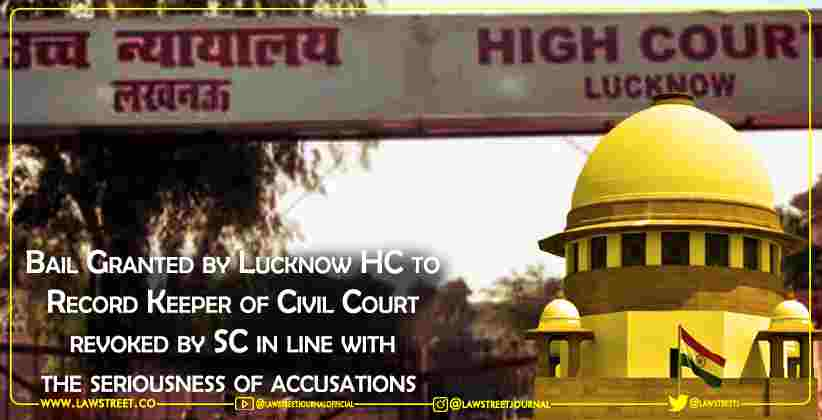 Bail Granted by Lucknow High Court to Record…
