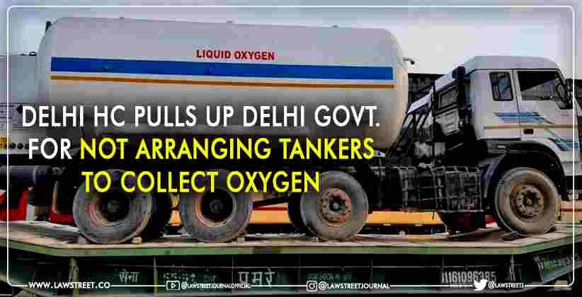 Delhi high Court Government Oxygen