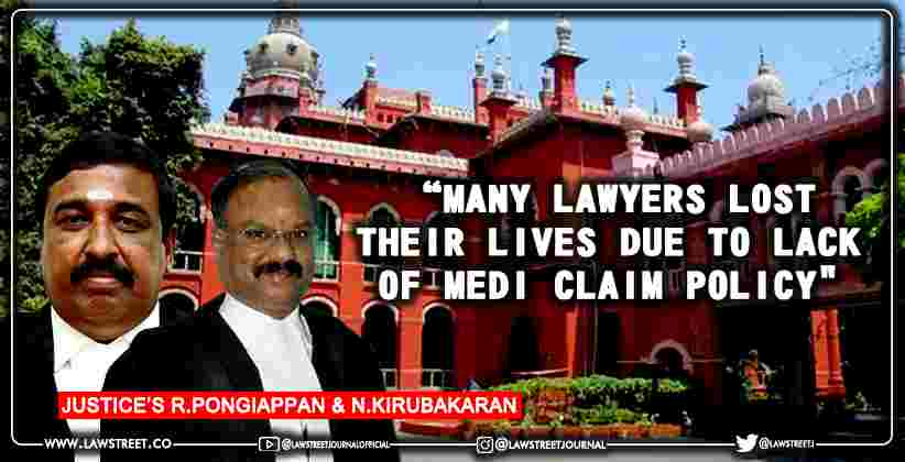 Madras HC forms committee examine insurance coverage advocates