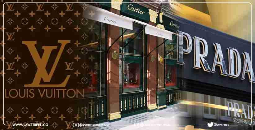 Louis Vuitton Cartier Prada blockchain