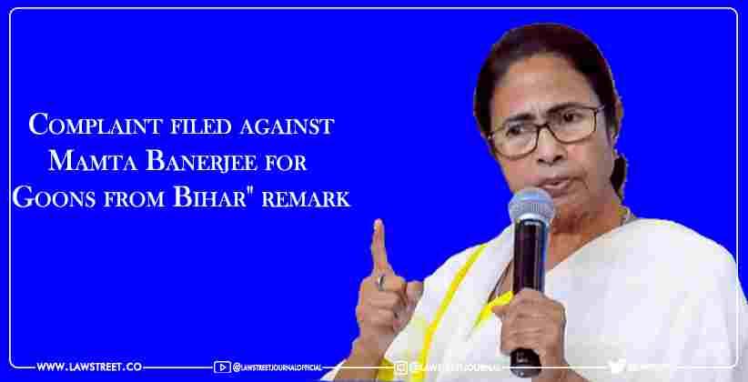 Complaint filed against Mamta Banerjee for