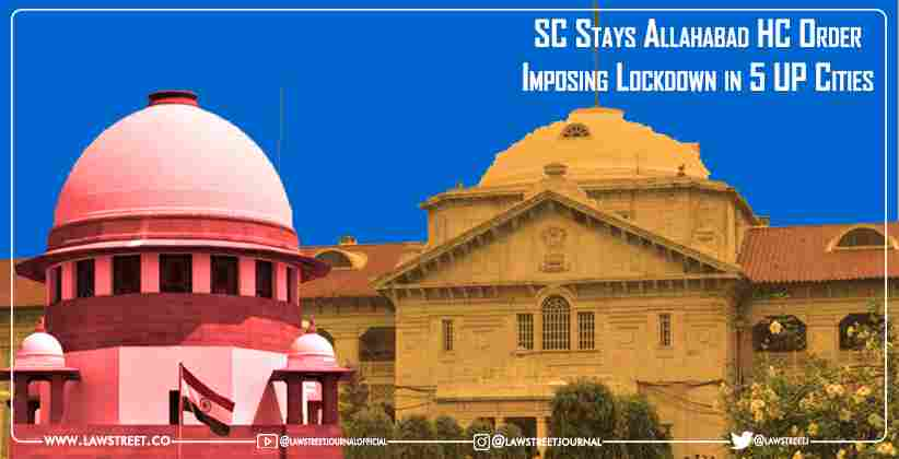Supreme Court Stays Allahabad High Court…