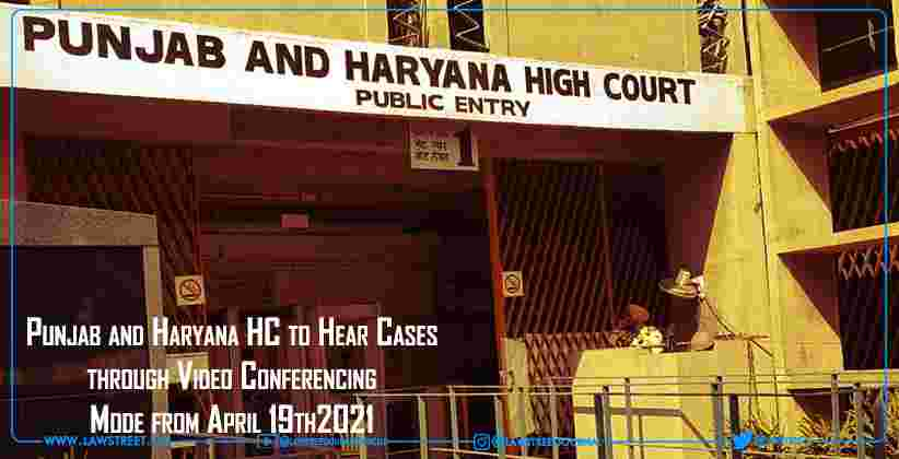 Punjab and Haryana High Court to Hear Cases…