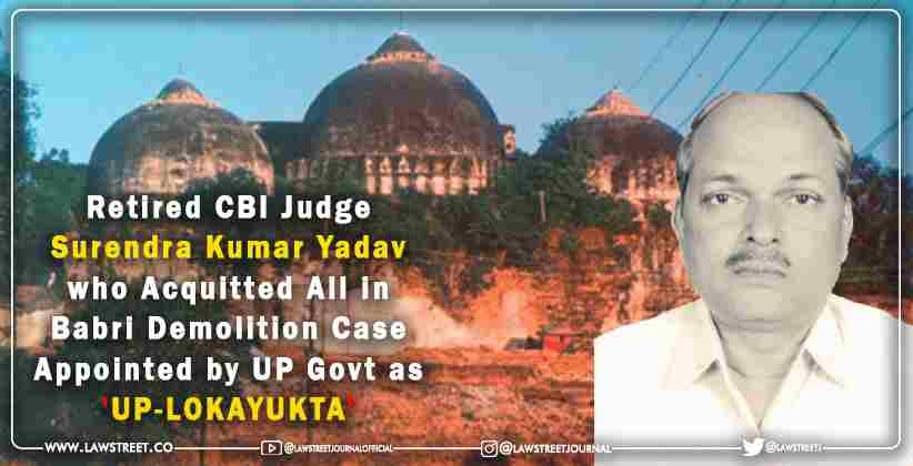Judge who Acquitted All in Babri Demolition…