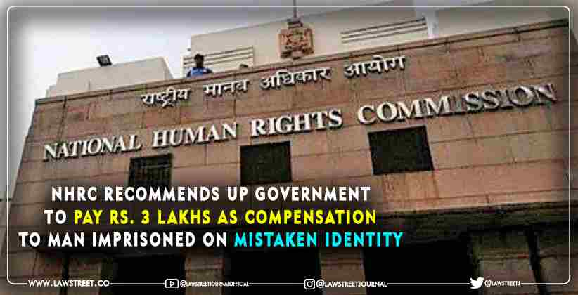 NHRC UP Government Mistaken Identity