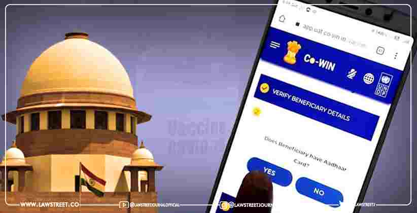 Persons Without Digital Access Can Take Help of Friends, Families, NGO's, Common Service Centres for COWIN Registration: Centre Tells SC