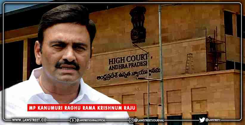 Narsapuram MP Raghurama Krishnam Raju alleges…