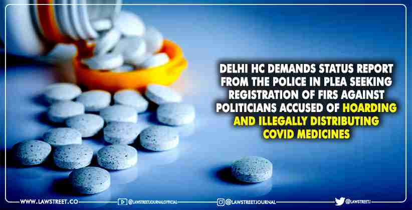 hoarding illegally distributing Covid medicines