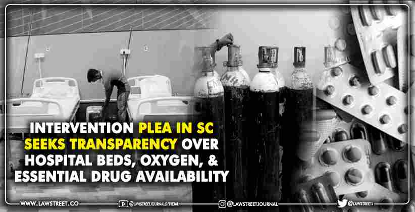 Transparency Over Hospital Beds Oxygen Essential Drug