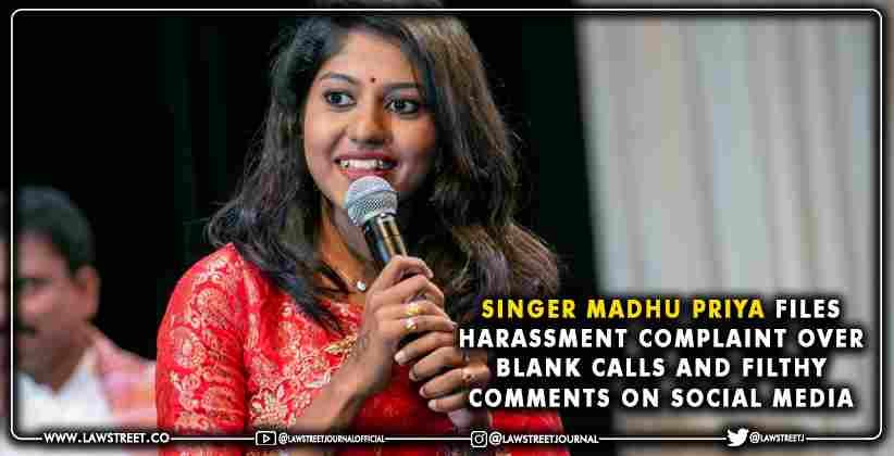 Singer Madhu Priya Harassment Complaint