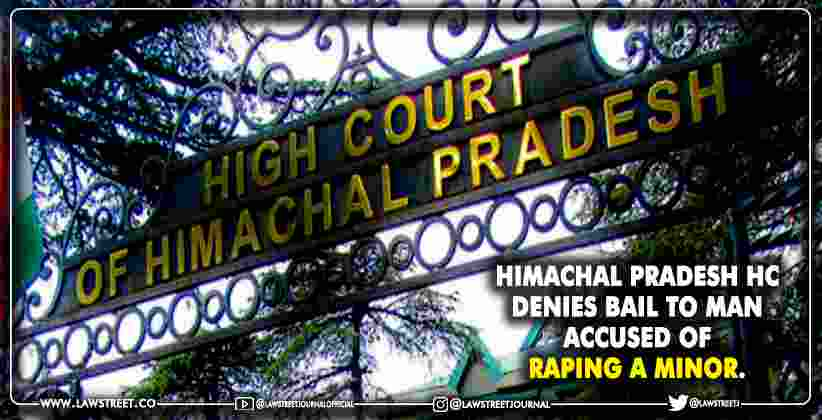 Himachal Pradesh HC denies bail to man accused…