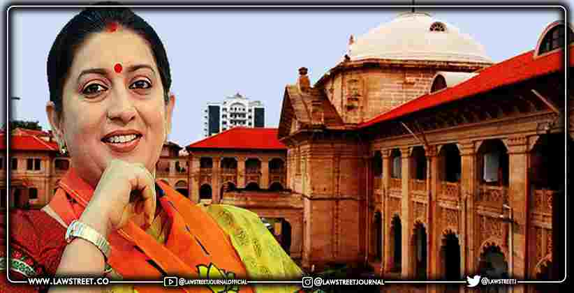 Allahabad HC rejects Bail Application of Professor accused of posting obscene content on Smriti Irani