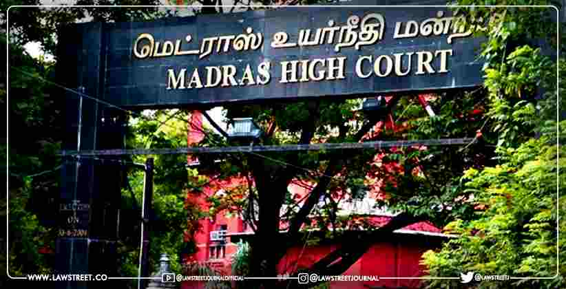 Arbitration Rules Writ Petition Madras HC