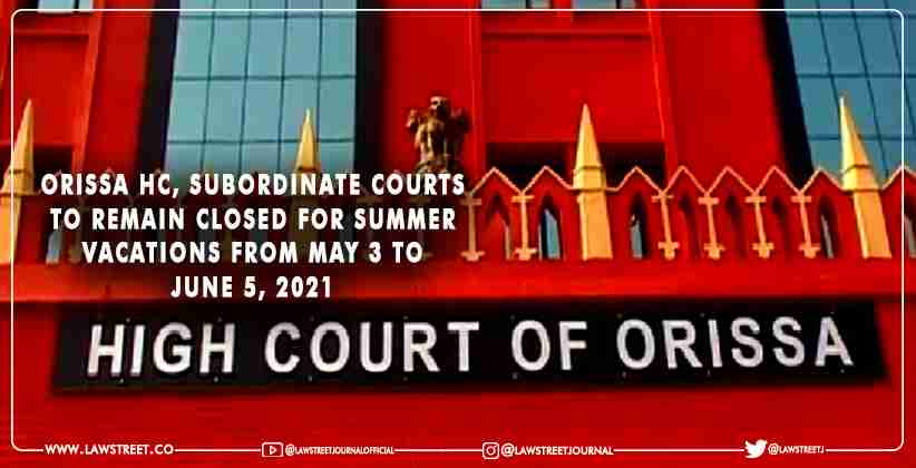 Subordinate Courts to Remain Closed