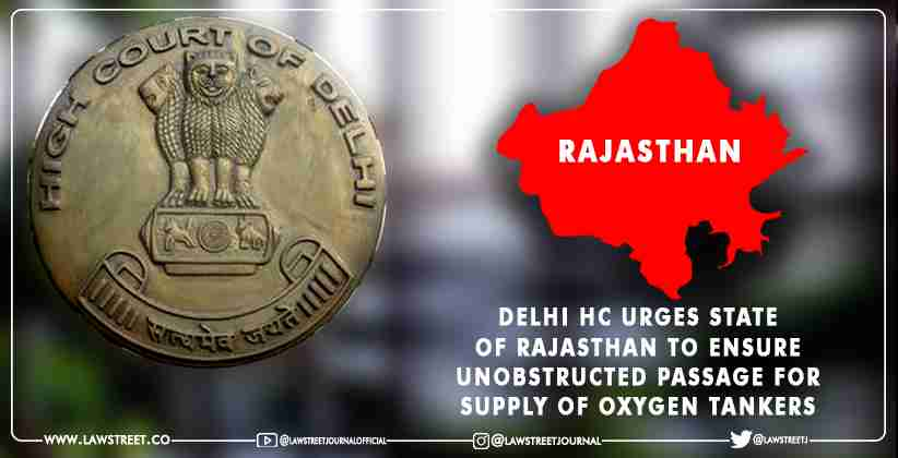 Delhi High Court State of Rajasthan