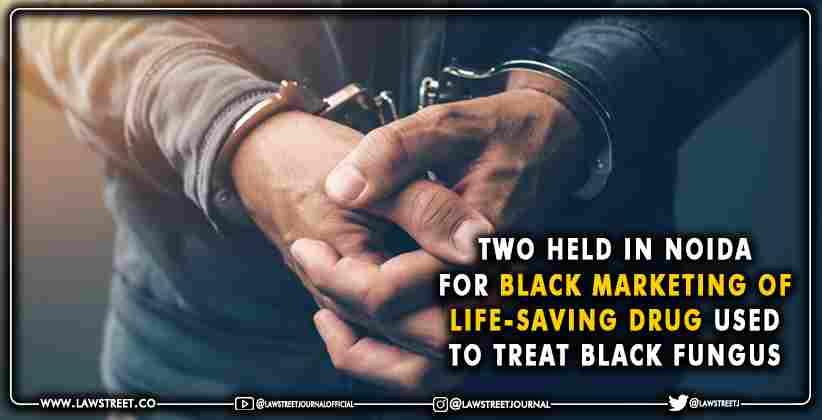 black marketing of life-saving drug