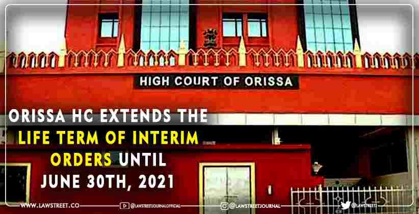 life term of interim orders