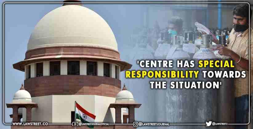 Supreme Court Oxygen shortages national capital