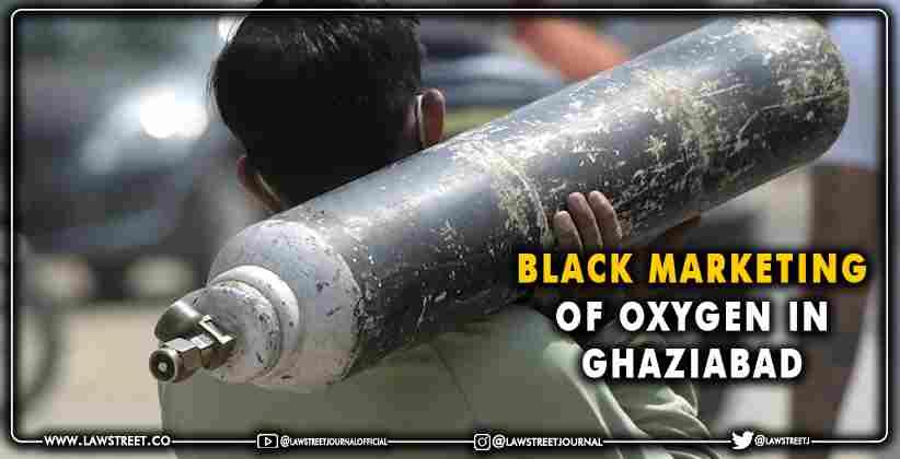Black Marketing Oxygen Ghaziabad