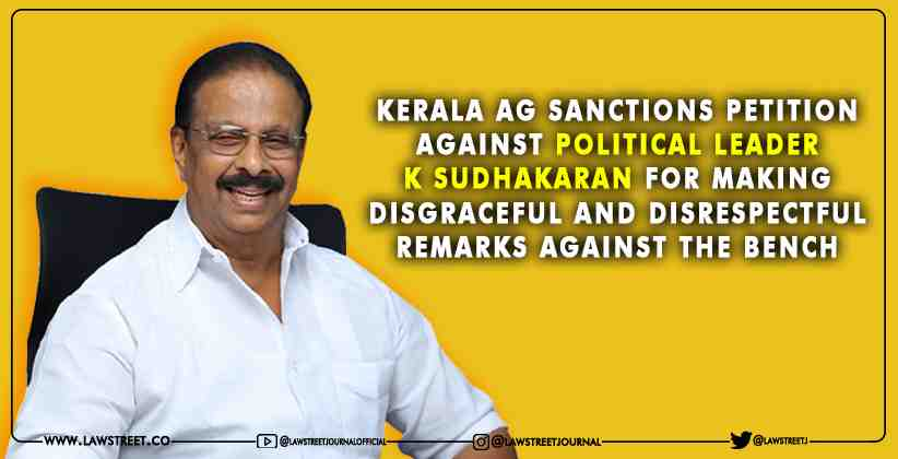 Kerala AG sanctions petition against political…