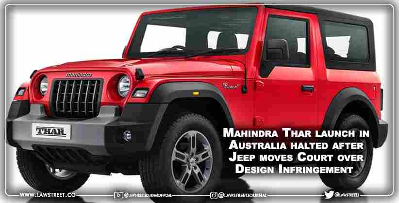 Mahindra Thar launch in Australia halted…