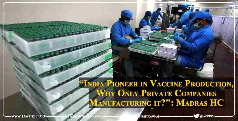 """India Pioneer in Vaccine Production, Why…"