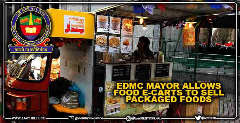 EDMC Mayor allows food e-carts to sell packaged foods