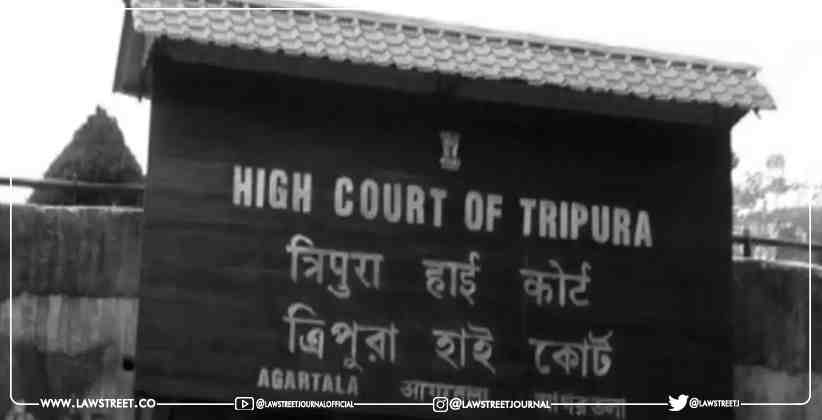 Tripura High Court registers Suo moto case…