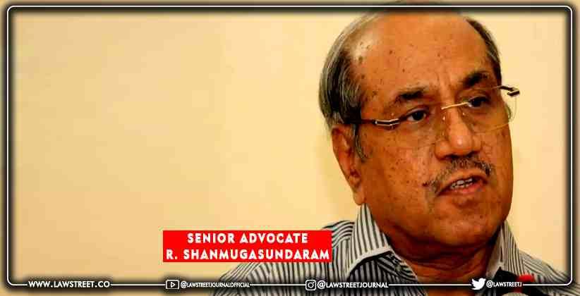 Senior Advocate R Shanmugasundaram appointed as the next advocate general for Tamil Nadu