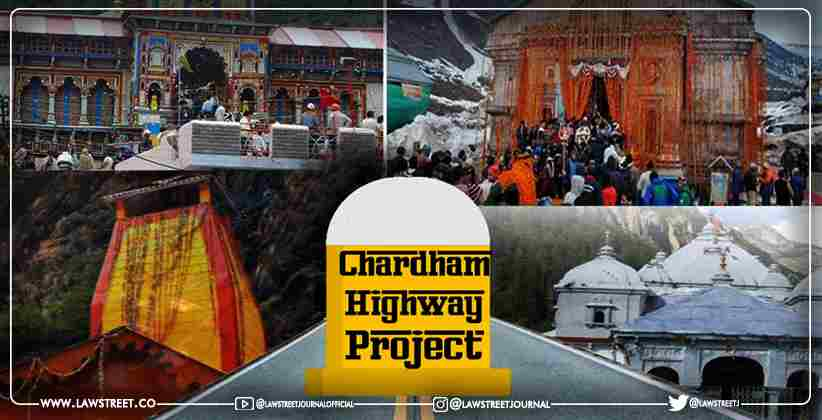 Char Dham Road Project: Centre opposes petitioner's…