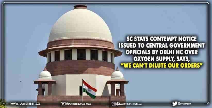 Supreme Court Delhi HC Oxygen Supply