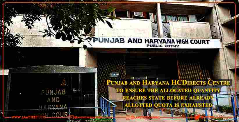 Punjab and Haryana High Court Directs Centre…