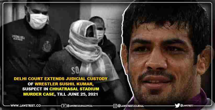 Delhi Court Extends Judicial Custody of Wrestler Sushil Kumar, suspect in Chhatrasal Stadium Murder Case, Till June 25, 2021