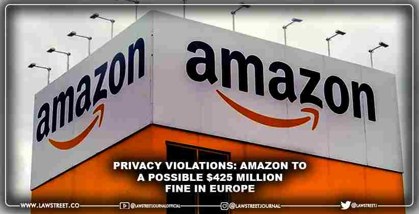 Privacy violations: Amazon to a possible…