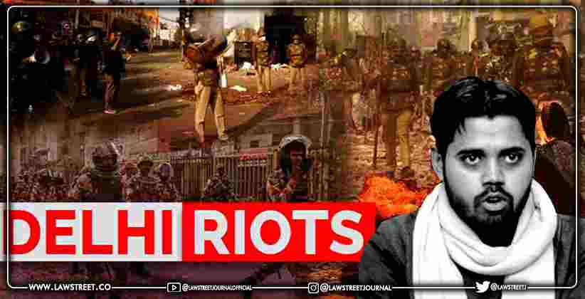 Delhi court directs fresh verification of address furnished by Asif Iqbal Tanha in Delhi riots case [READ ORDER]