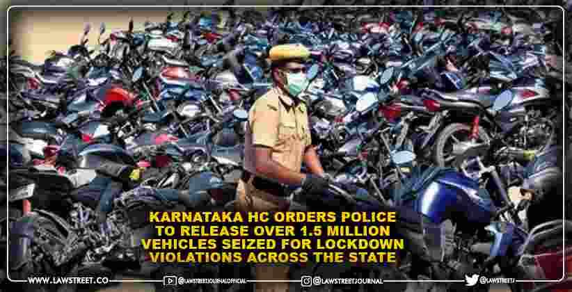 Karnataka High Court orders police to release…