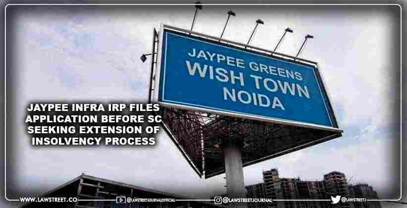 Jaypee Infra IRP files application before…