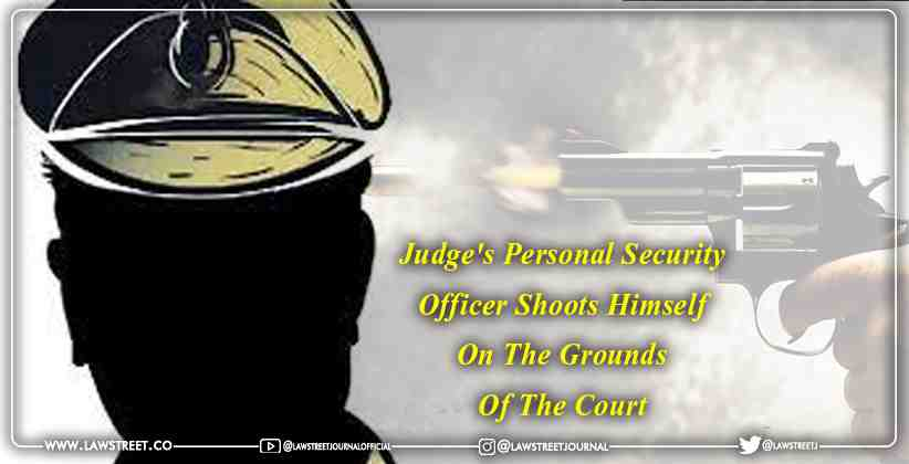 Judge's personal security officer shoots…
