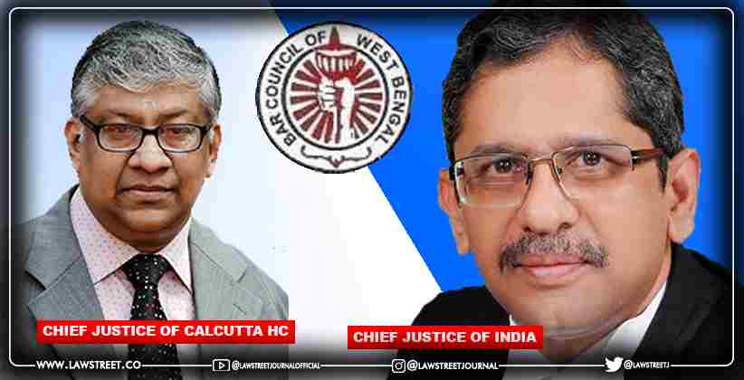 BAR COUNCIL OF WEST BENGAL WRITES LETTER TO CHIEF JUSTICE OF INDIA SEEKING REMOVAL OF ACTING CHIEF JUSTICE OF CALCUTTA HIGH COURT OVER HIS PARTIAL, UNFAIR AND BIASED JUDGEMENTS