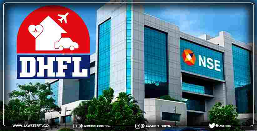 National Stock Exchange and Bombay Stock Exchange suspend trading in the shares of DHFL from June 15th, 2021