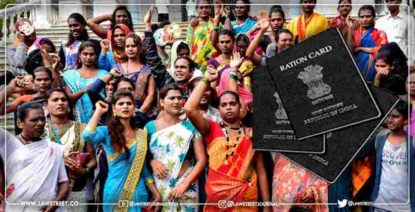 Relief for transgenders without ration cards