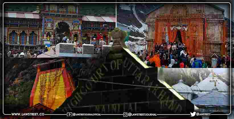 Char Dham Yatra Amid COVID: Uttarakhand High Court Seeks Details on Preparedness of State Government, Issues Directions [READ ORDER]