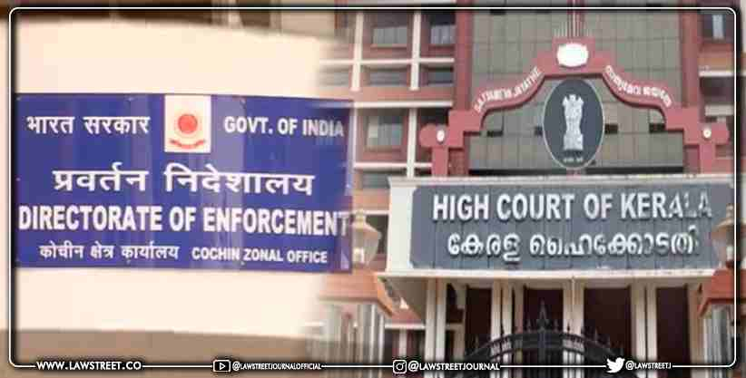Cochin Zone ED moves Kerala High Court