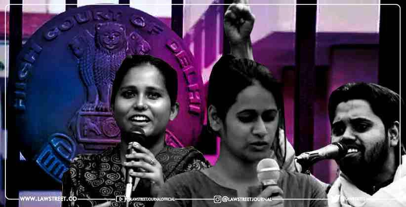 Delhi HC Grants Bail to 3 Student Activists