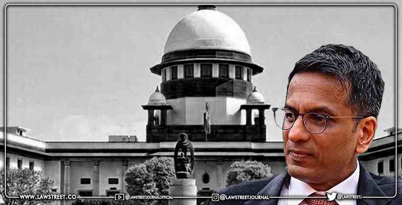 New VC Platform for Supreme Court with 1000 MBPS internet connection - best tender to be awarded soon: Justice Chandrachud